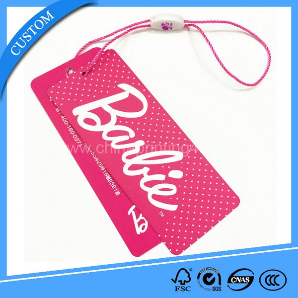Color Cardboard Paper Gift Tags Clothing Hang Paper Tag